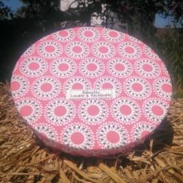 Disponibles : 1 pièce de 25 cm - 0 pièce de 30cm - 2 pièces de 35 cm - Rose Etoilée