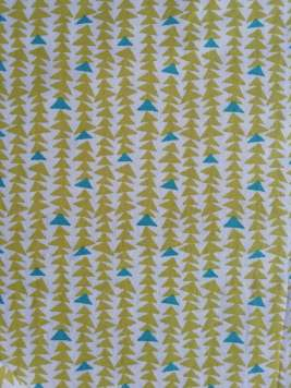 Tissus 'Sapin Turquoise' - 3 lots possibles