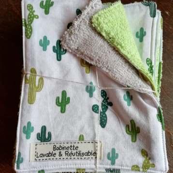 1 lot de 10 pièces - cactus