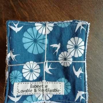 Disponible : 3 lots de 5 pièces - hirondelles bleues