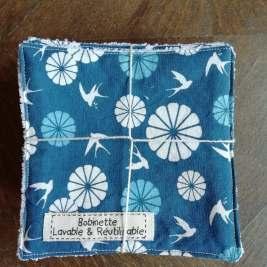 Disponible : 1 lot de 5 pièces - hirondelles bleues