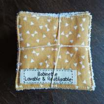 Disponible : 1 lot de 5 pièces - Noeuds pap' moutarde