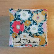 Disponible : 1 lot de 5 pièces - tapis fleuri