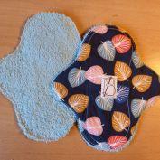 2 pièces - palmier éponge bleue