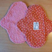 3 pièces - Noeud papillon rose - éponge rose
