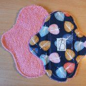 2 pièces - palmier éponge rose